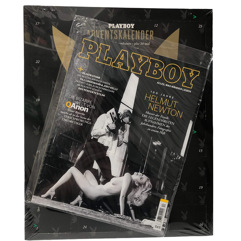 Inhalt Playboy Adventskalender 2020 mit feinster Schokolade