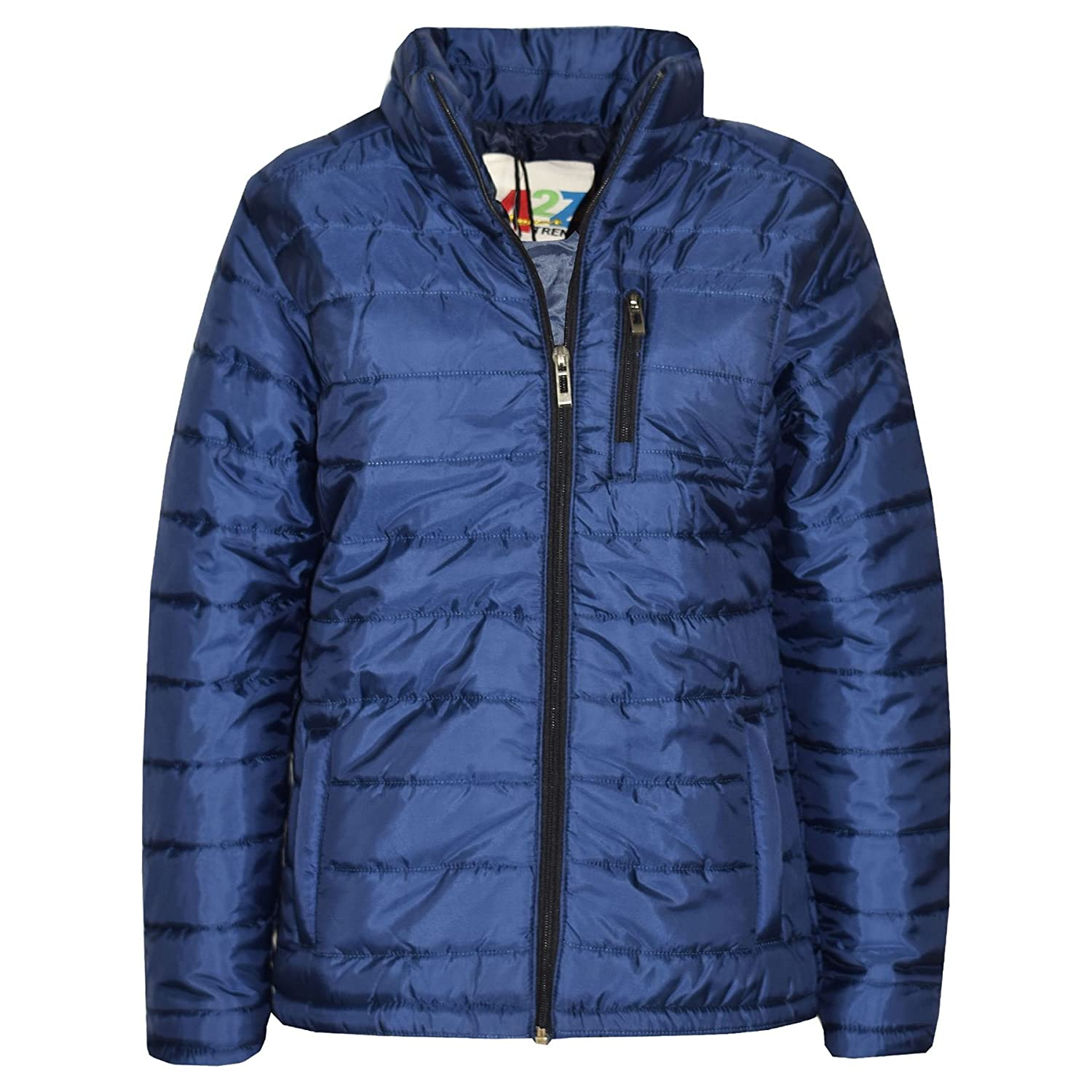 08a22851e885 A2Z 4 Kids® Boys Jacket Kids Designer s Foam Padded Navy Puffa School Coat  Quilted Warm Thick Jackets Coats. A2Z 4 Kids® Is Our Trade Mark