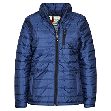 694eed4b4ff3 Amazon.com  A2Z 4 Kids® Boys Jackets Kids Foam Padded Navy Puffa ...