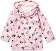 Spotted Zebra Girl's Toddler & Kid's Rain Coat