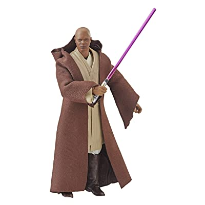 "Star Wars The Black Series 6"" Mace Windu Figure: Toys & Games"