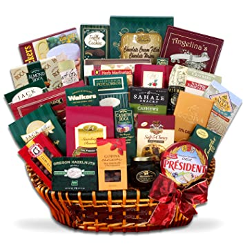 treats for the whole office enormous christmas gift basket