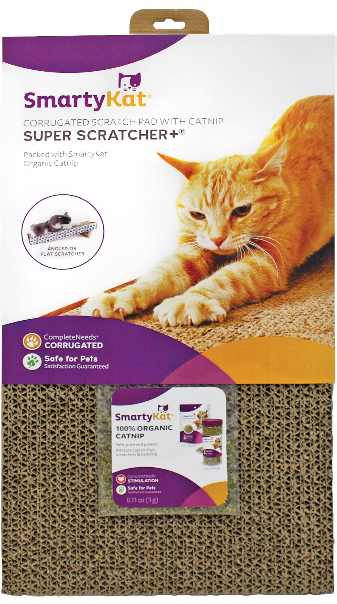 SmartyKat Corrugated Cat Scratchers Super Scratcher +