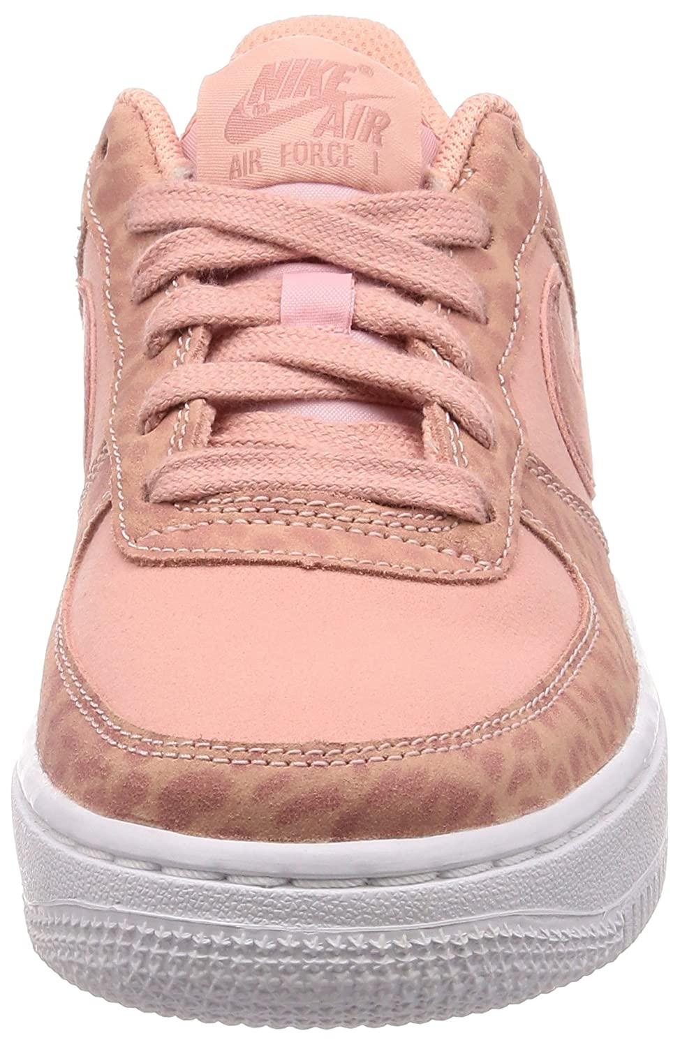 fa6595844f NIKE Unisex Kids' Air Force 1 Lv8 (gs) Low-Top Sneakers, (Coral Stardust/Rust  Pink-White 600), 5.5 UK: Amazon.co.uk: Shoes & Bags