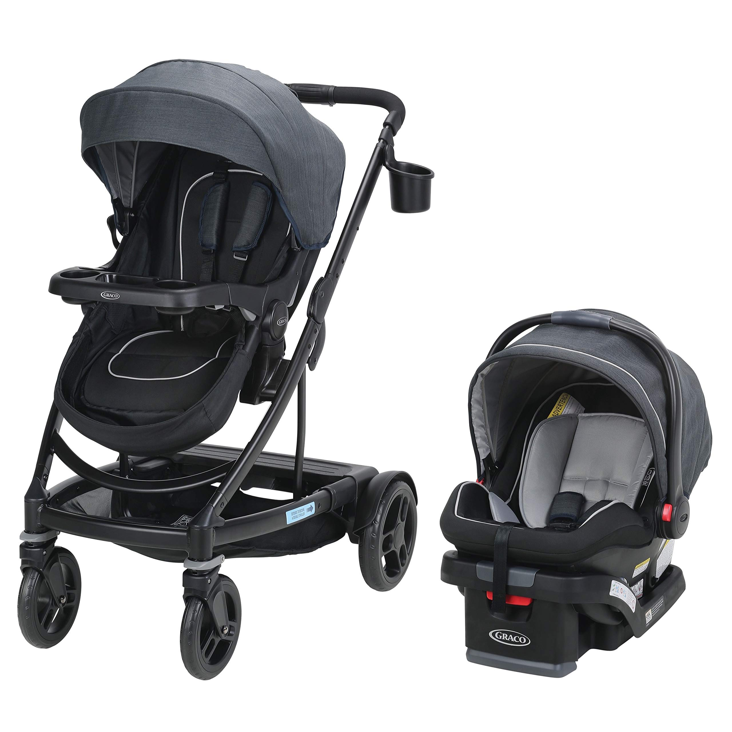Graco UNO2DUO 2065075 Travel System Stroller, Reece