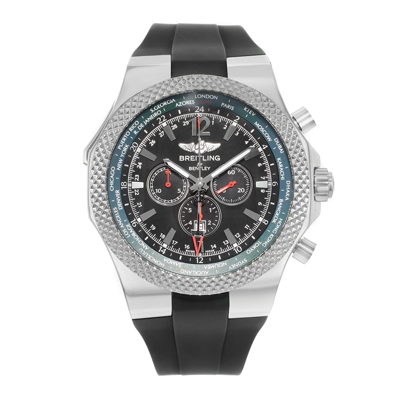 Breitling For Bentley >> Amazon Com Breitling Bentley Gmt A47362s4 B919 222s