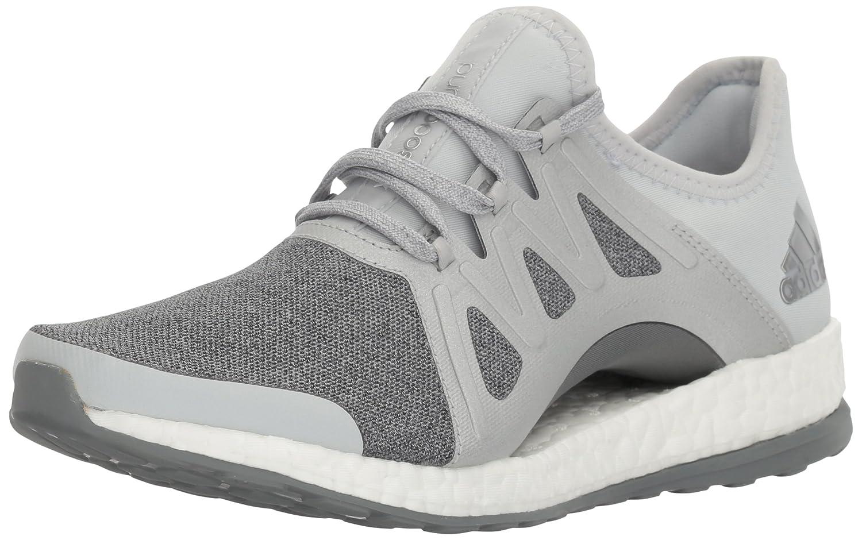 adidas Women's Pureboost Xpose B01H6A7WKW 10.5 B(M) US|Clear/Grey/Metallic/Silver/Mid Grey