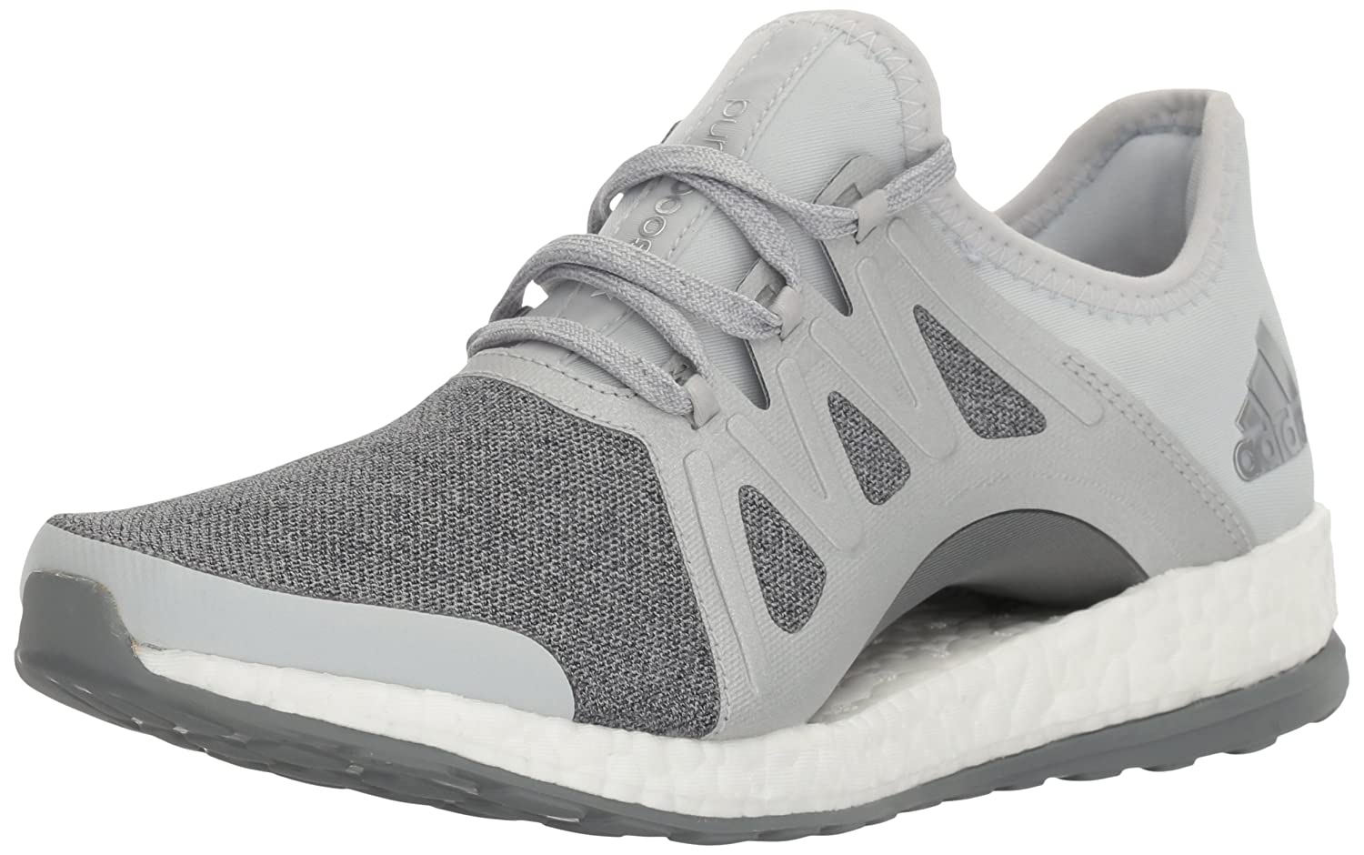 Clear Grey Metallic Silver Mid Grey Adidas Performance Women's Pureboost