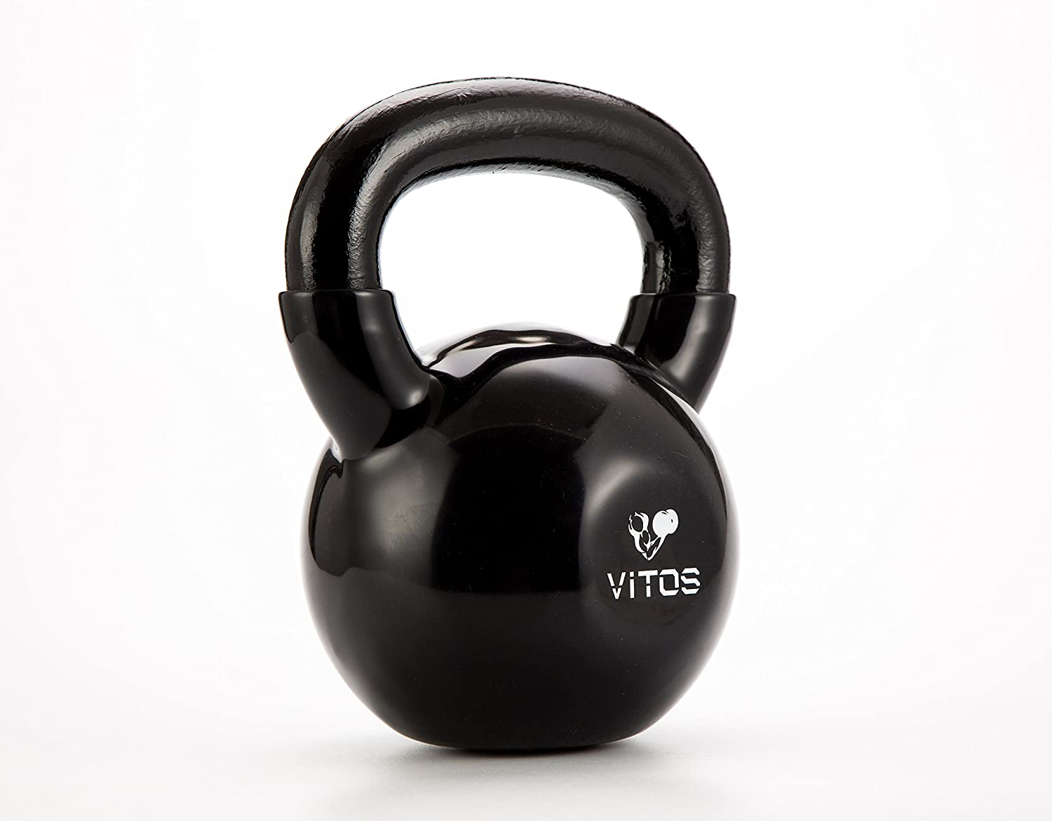 Vitos Fitness Vinyl Coated Kettlebell Weights Available from 5 to 50 LBs
