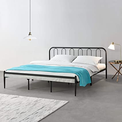 en.casa] Cama de Metal con Somier 200 x 180 cm Cama Doble ...