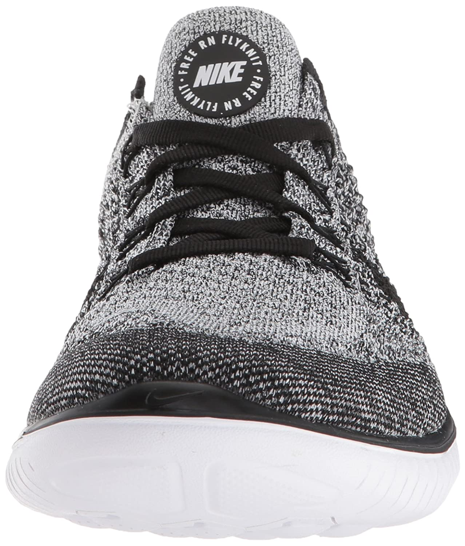 NIKE Women's Free Rn B078Y7X1XK Flyknit 2018 Running Shoe B078Y7X1XK Rn 8 B(M) US|White/Black 1e83e8