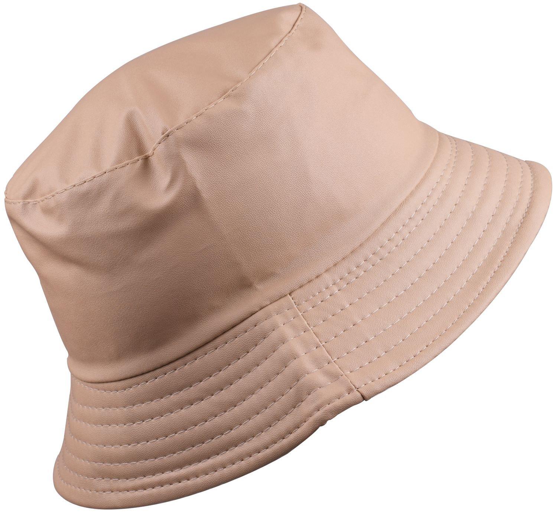 BODY STRENTH Women's Bucket Rain Hat For Women Waterproof Bucket Hat Wide Brimmed Hat Khaki