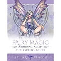 Fairy Magic - Whimsical Fantasy Coloring Book: Volume 14