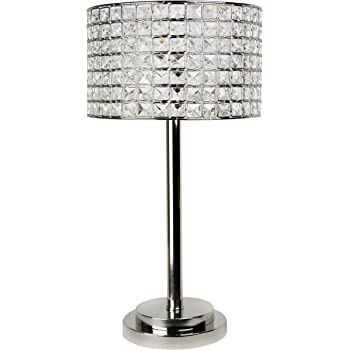 Grandview Gallery Table Lamp With Laser Cut Shade Laser