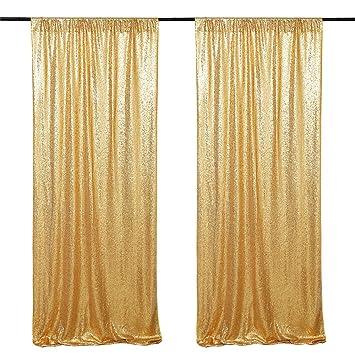 Amazon.com: B-COOL - Fondo de lentejuelas dorado de 48.0 x ...