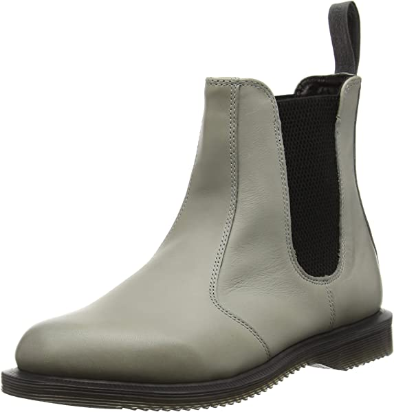 details for new products special selection of Flora Burnished Servo Lux Grey, Women's Chelsea Boots