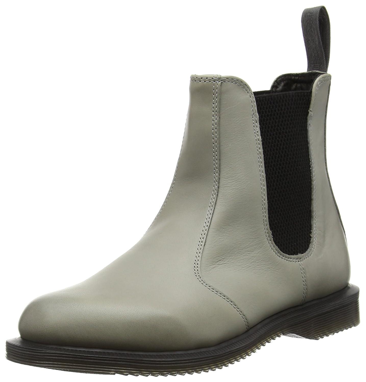 Dr. Martens Women's Flora Ankle Boot B012HK0ATG 3 M UK / 5 B(M) US|Grey