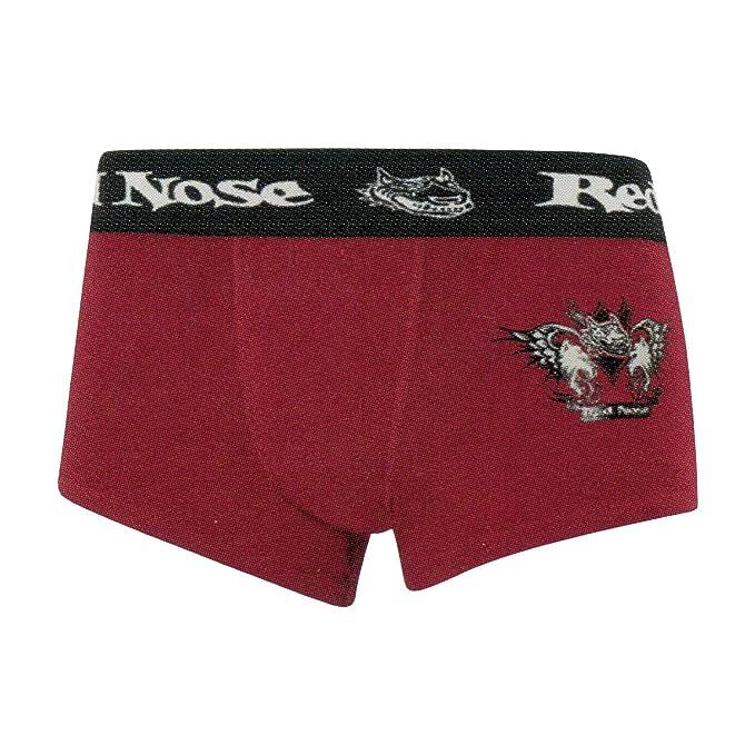Lupo -Cueca Boxer Sunga -Red Nose- rojo, Talla EG