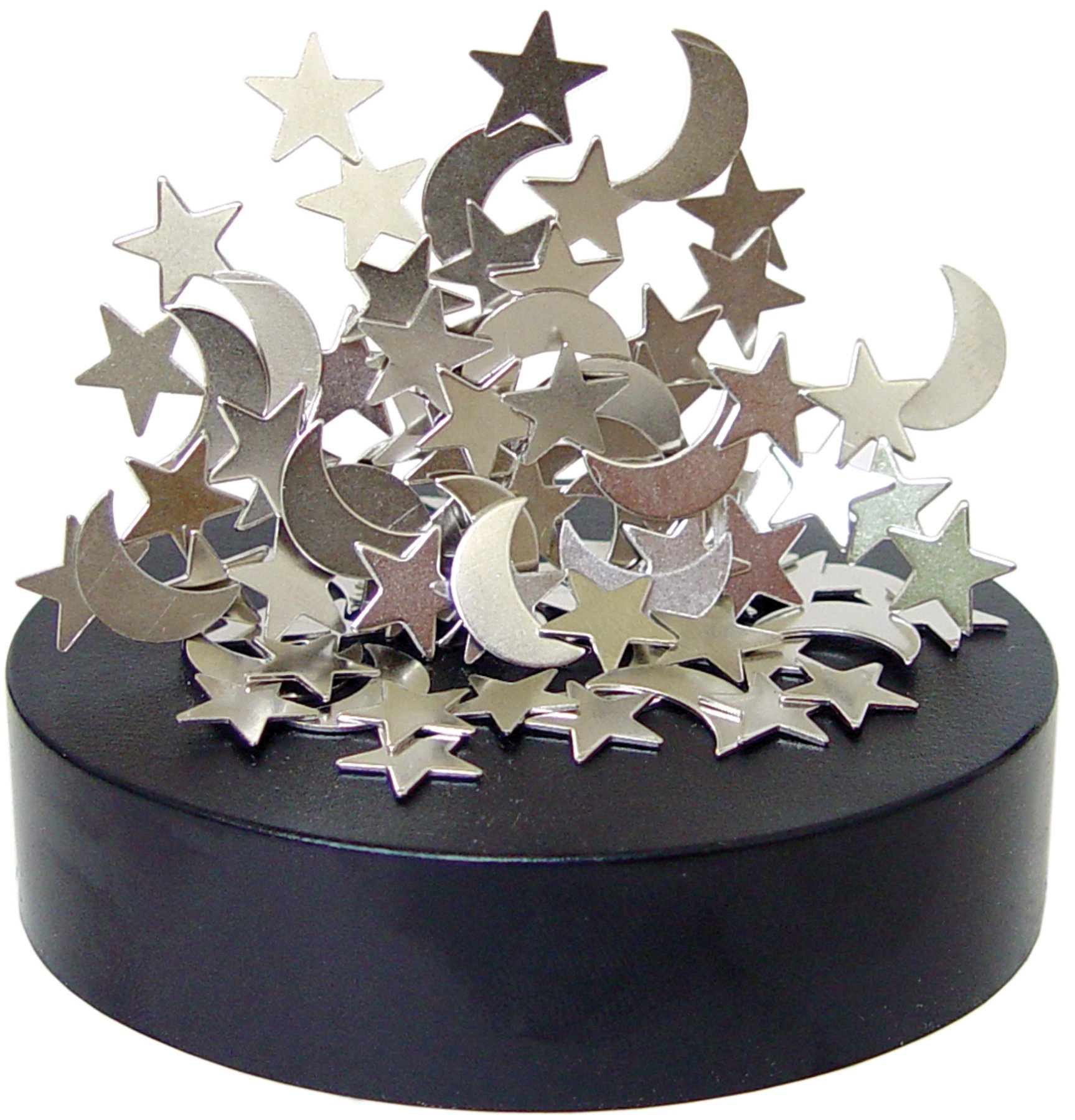 Magnetic Star And Moon Sculpture 2
