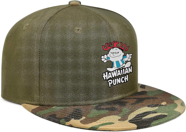 How About a Nice Hawaiian Punch Unisex Baseball Cap Lightweight Sport Baseball Caps Adjustable Trucker Caps Dad-Hat