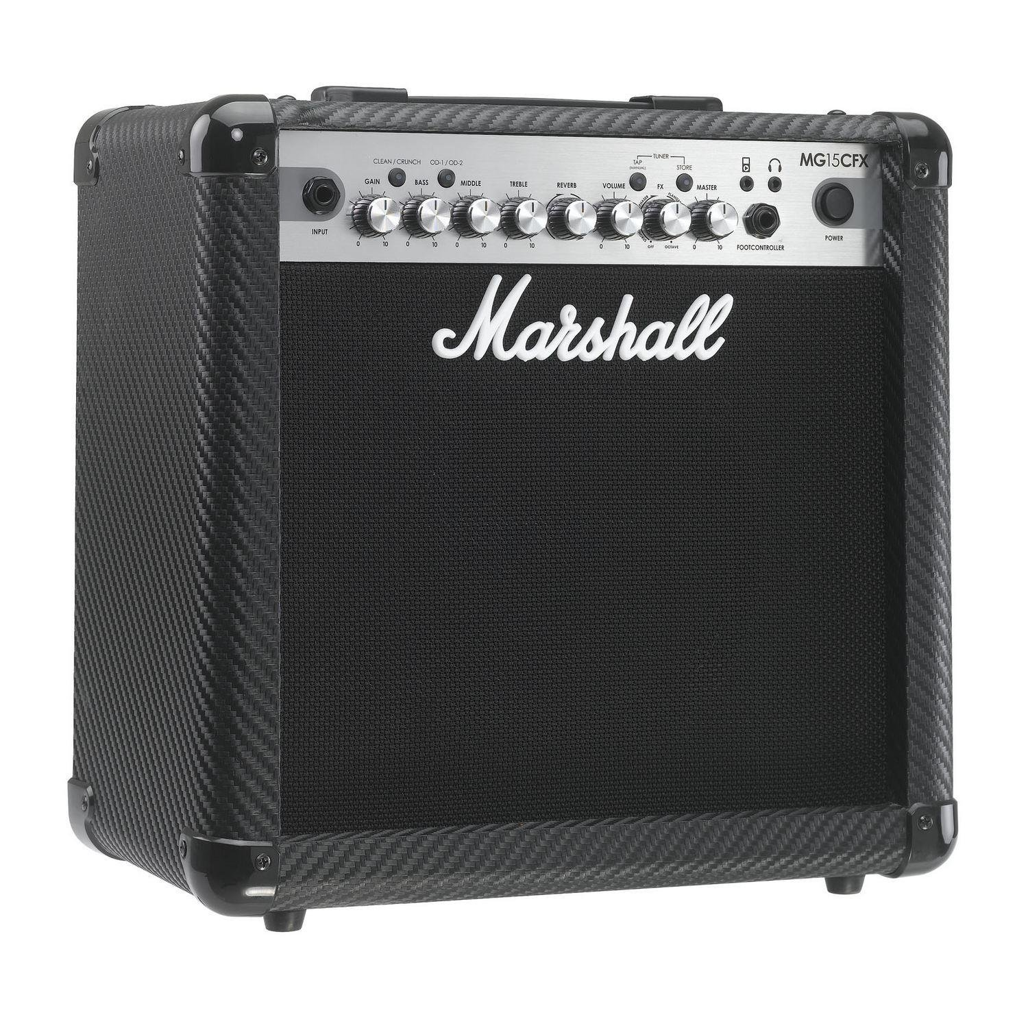 Marshall MG15CFX MG Series 15-Watt Guitar Combo Amp by Marshall Amps