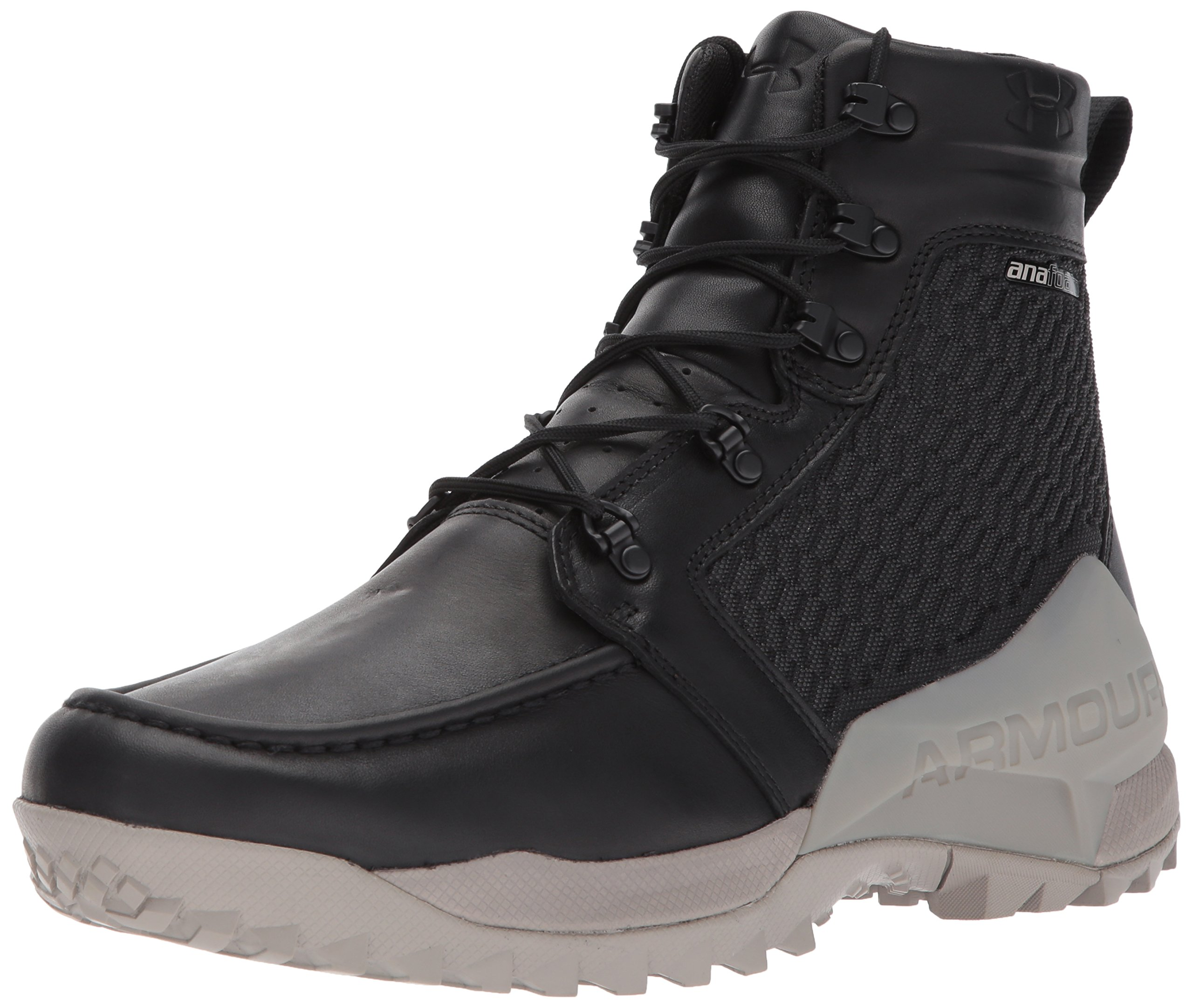 Under Armour Men's Field Ops Gore-Tex Ankle Boot, Black (001)/Autumn Tan, 8.5