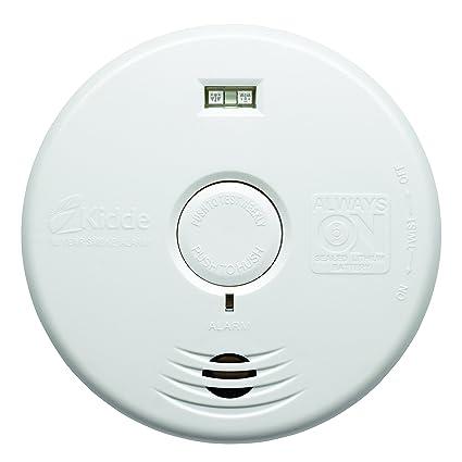 Kidde 002518.0023 wfpl Detector de humo óptico con batería de litio integrada para toda la vida ...