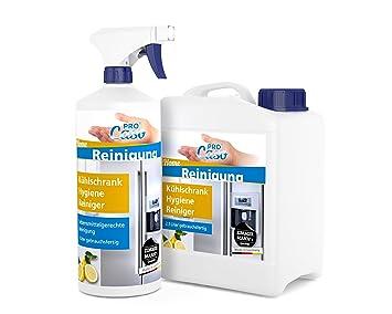 Kühlschrank Reiniger : Procaso kühlschrank hygiene reiniger liter mit zerstäuber