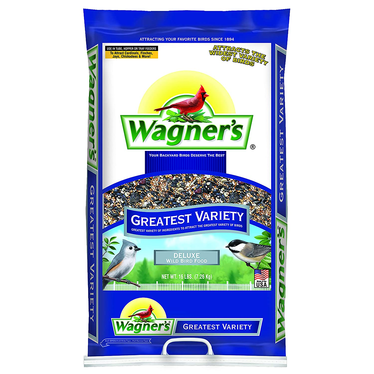 Wagner's 62059 Greatest Variety Blend Deluxe, 16-Pound Bag