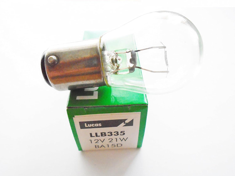 LLB335 Lucas-Elta 12V 21W BA15D SBC S25 E OE QUALITY