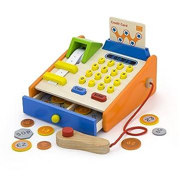 Vortigern #V51037 Mi Primera Caja Registradora con Sterling Dinero de Juego: Amazon.es: Juguetes y juegos