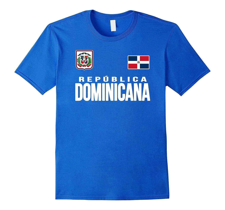 Republica Dominicana T-shirt Flag Travel Vacation Souvenir-RT