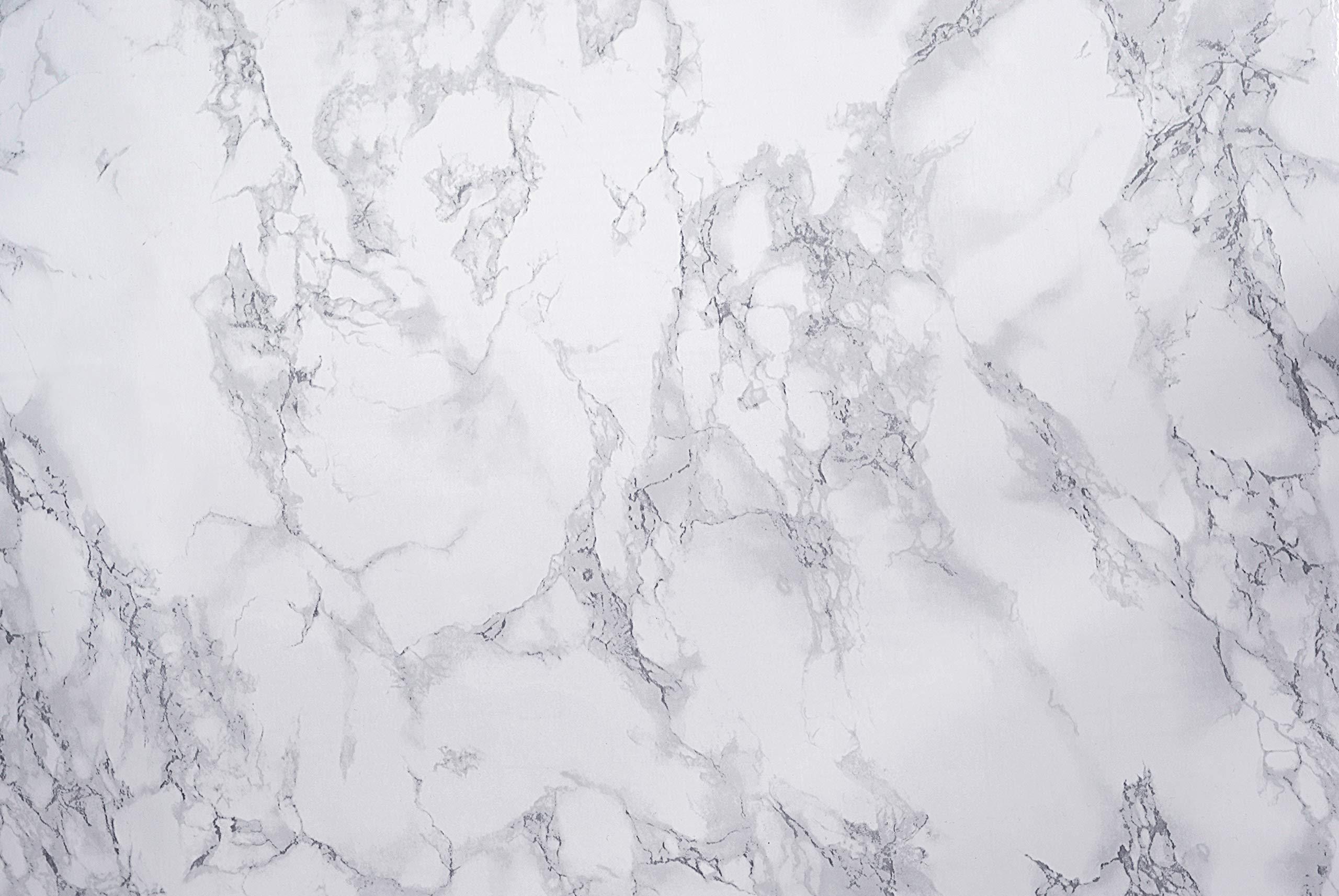 Hornschuch Papier adhésif motif marbre Gris 67,5 cm x 2 m product image