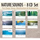 NATURE SOUNDS 8 CD Set – Ocean Waves, Forest Sounds, Thunder, Nature Sounds with Music, Wilderness Stream, Ocean Sounds…