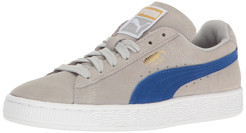 Puma Suede Classic  Damen Sneakers  10 B(M) US|Gray Violet-true Blue