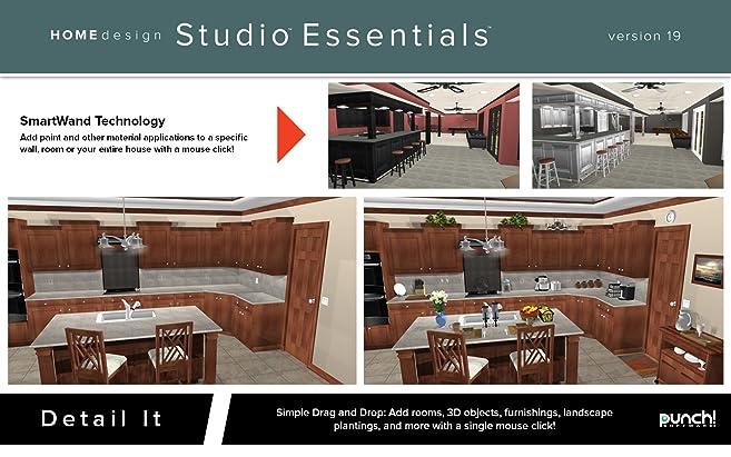 Amazon.com: Punch! Home Design Essentials for Mac v19 [Download ...