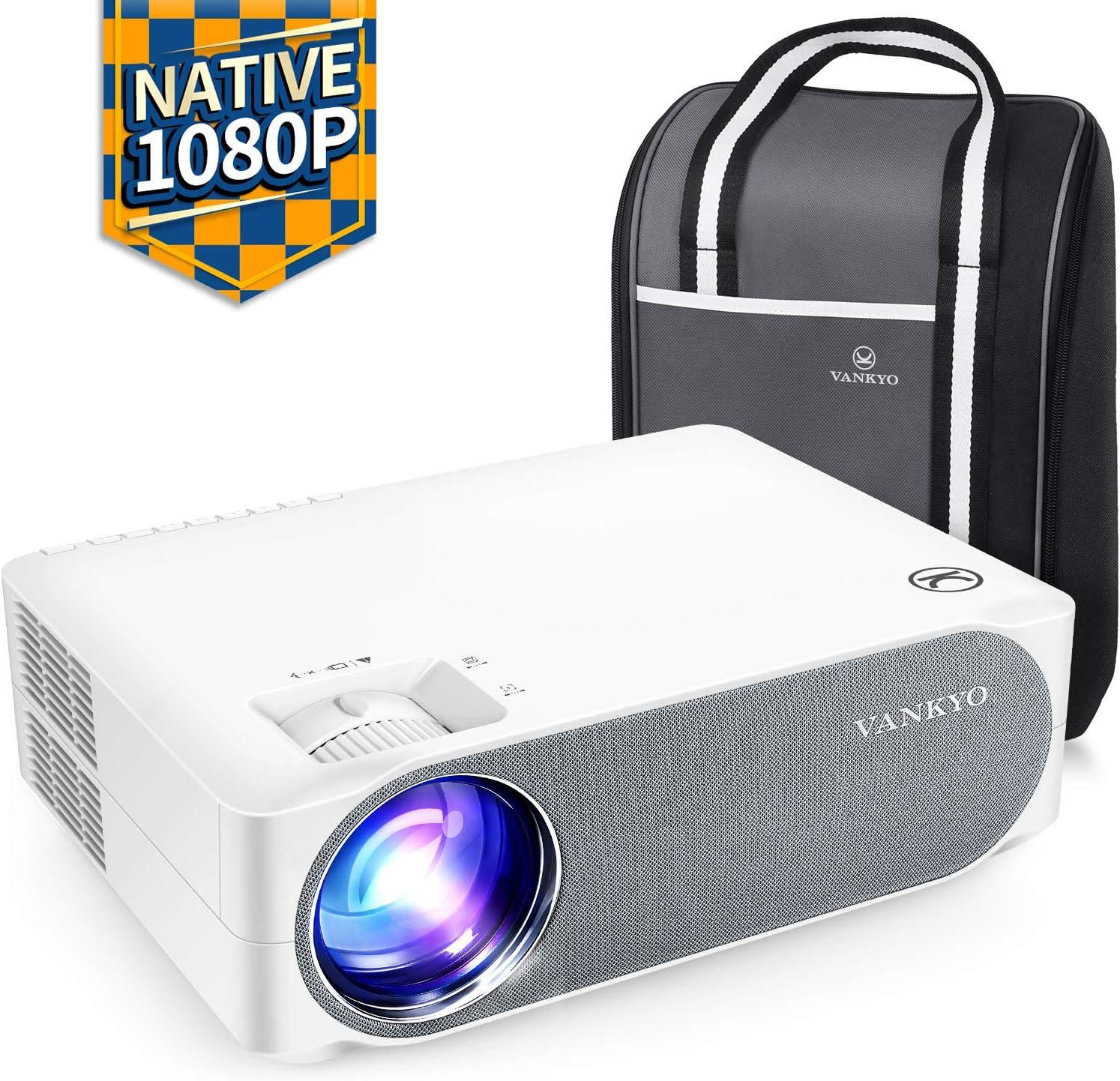 VANKYO Proyector 6500 lúmenes 1080P Nativo Full HD Soporte 4K ...
