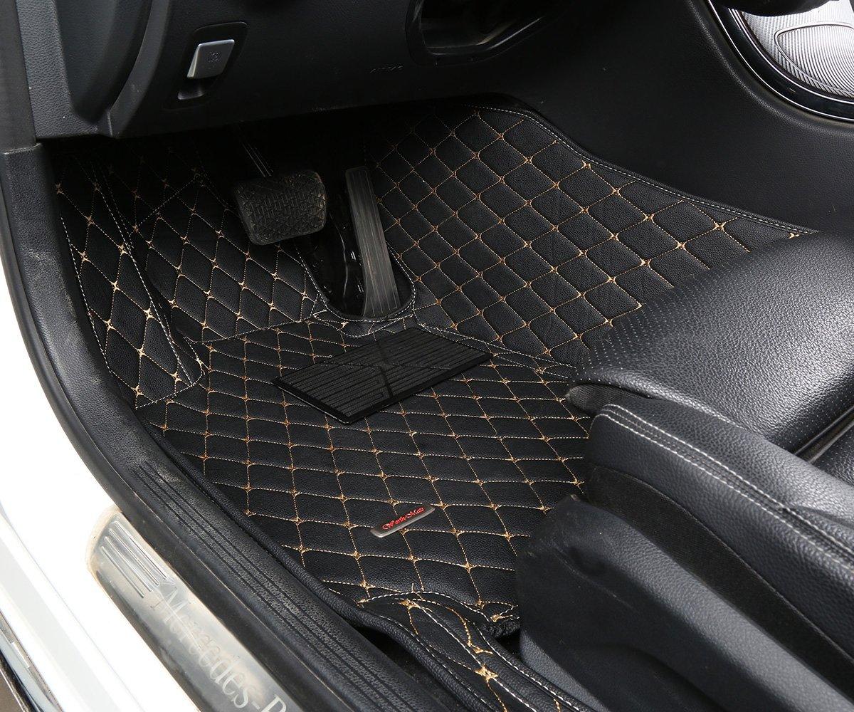 Rubber floor mats infiniti qx56 - Amazon Com Worth Mats Custom Fit Luxury Xpe Leather Waterproof Floor Mat For Infiniti Qx80 Qx56 Black Automotive