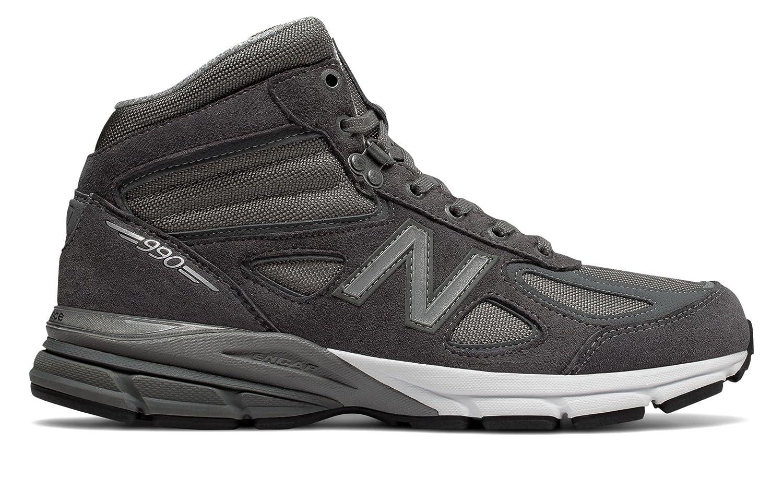 (ニューバランス) New Balance 靴シューズ メンズライフスタイル Made in USA 990v4 Mid Grey with Black グレー ブラック US 13 (31cm) B077997TM2