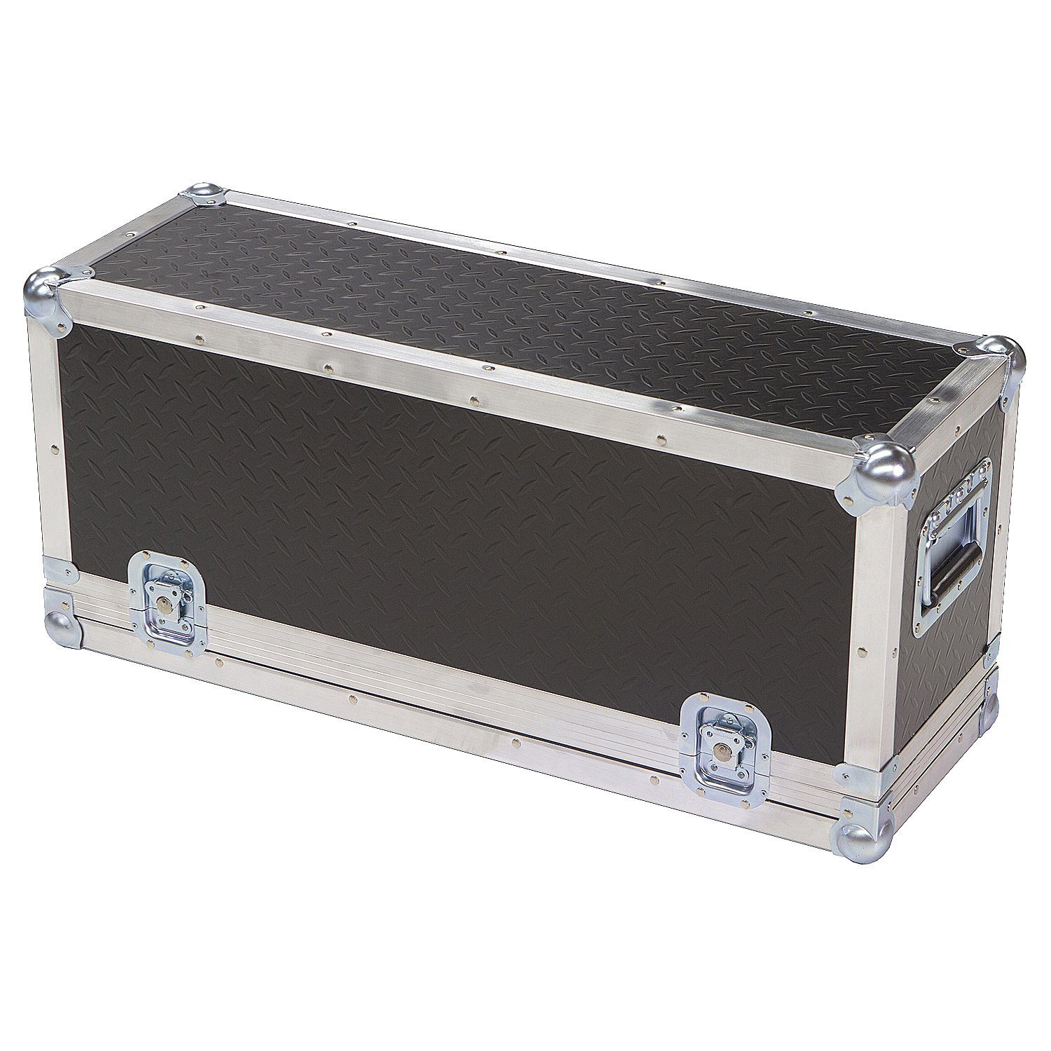Head Amplifier 1/4 Ply ATA Light Duty Case with Diamond Plate Laminate Fits Ampeg V-4b (New Version 2013)