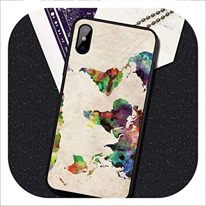 Amazon.com: World Map Travel Just Go - Carcasa para Huawei ...