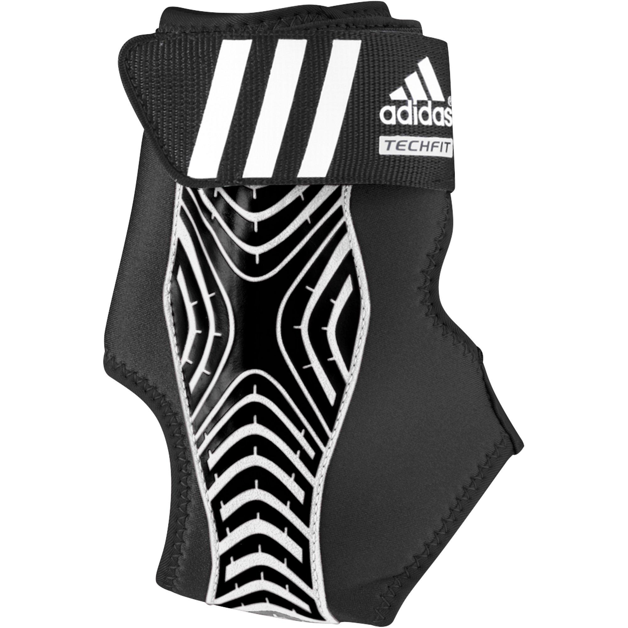 adidas Adizero Speedwrap Ankle Brace, Black/White, Small