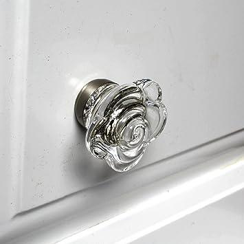 Glass Interior Door Knobs Cabinet Door Handles Or Vintage Drawer