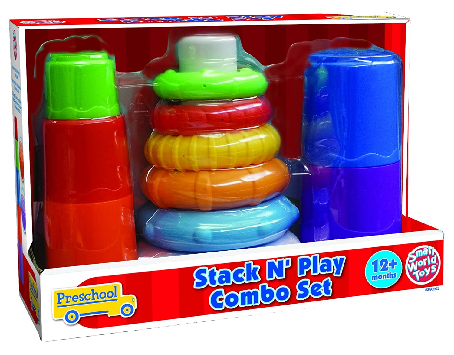Small World Toys Stack n Play Combo Set