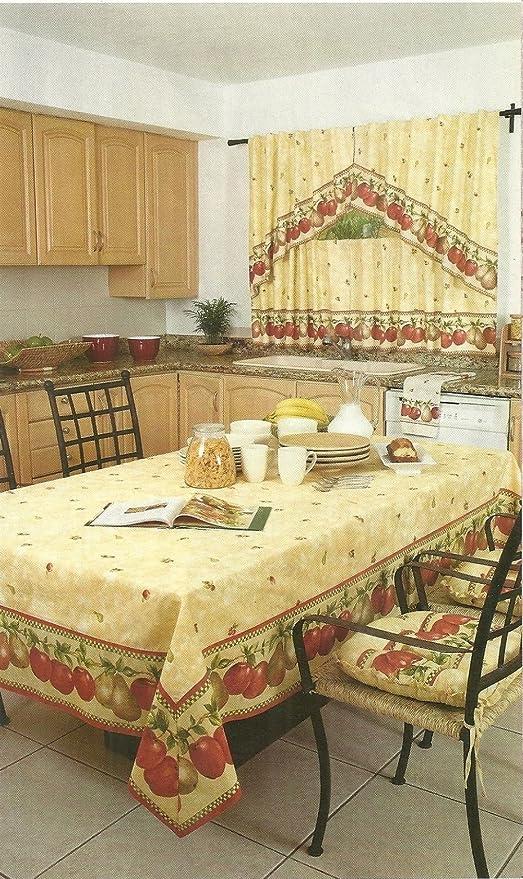 KITTY4U California decorativa tovaglia e cuscino per sedia con ...