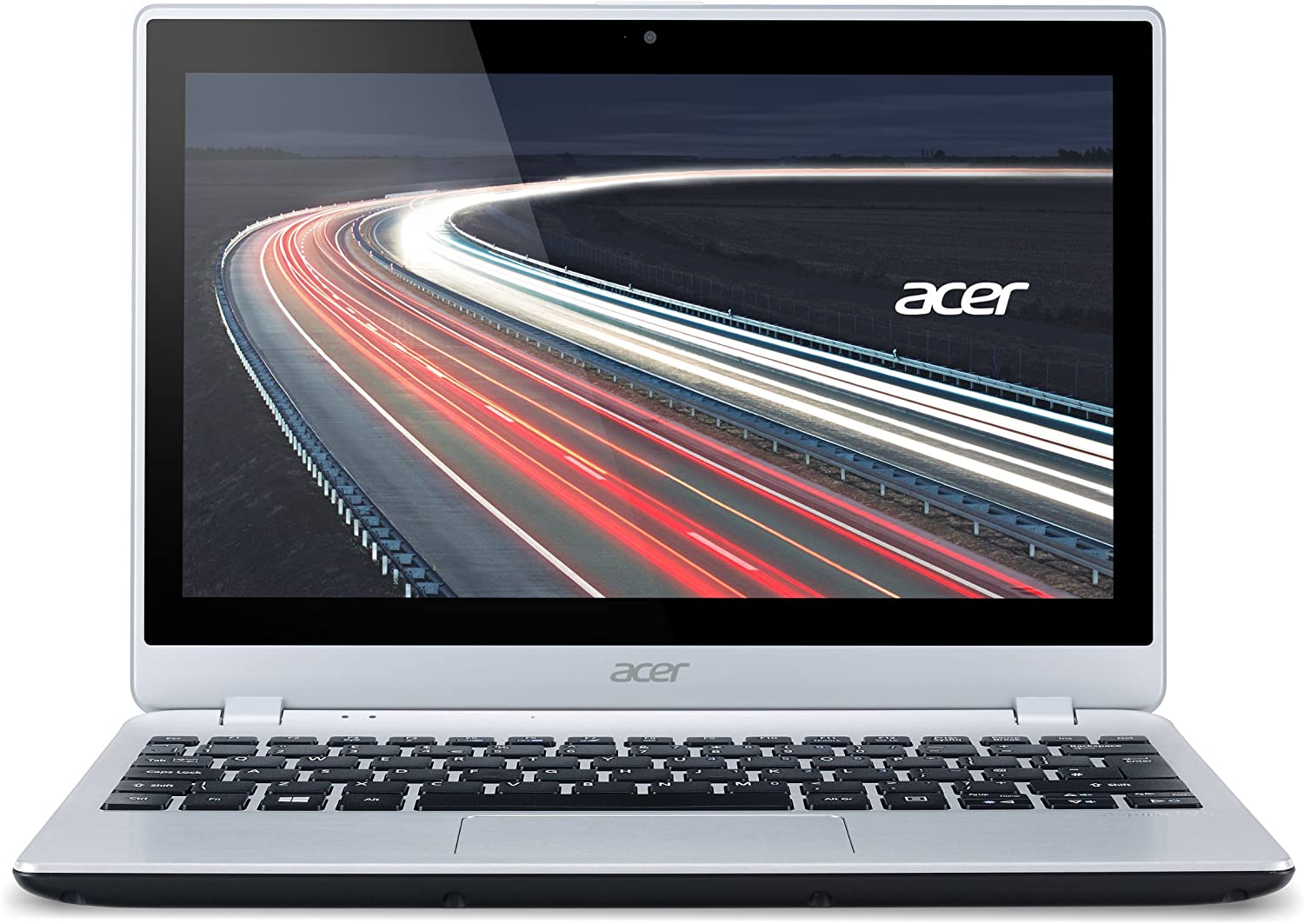 Acer Aspire V5-122P-0857 12-Inch Touchscreen Laptop (1 GHz A4-1250 A-Series processor, 4GB Ram, 500GB Hard Drive) Chill Silver (Renewed)