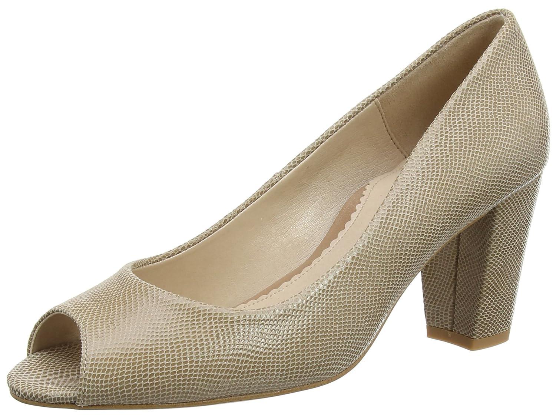 Van Dal 2719, Zapatos de Tacón de Punta Abierta Mujer, Beige (Powder Reptile), 37 1/3EU