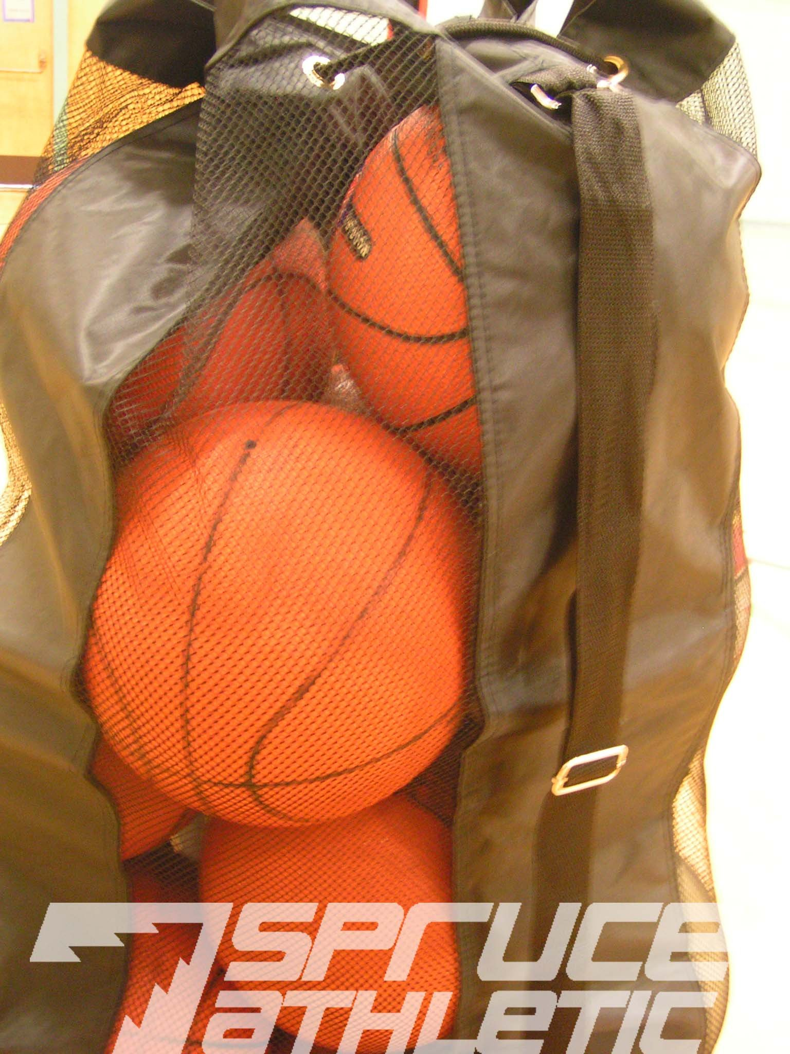 Spruce Athletic X-Large Heavy Duty Ball Bag (Holds 18 Soccer Balls or 15 Youth Basketballs) by Spruce Athletic (Image #3)