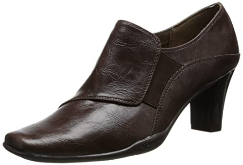 Aerosoles Women's Cingle File Dress Pump,Dark Brown Combo,11 ...