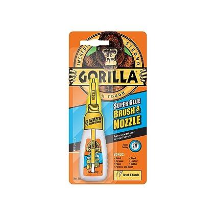 GORILLA GLUE 4044501 12 g 2-in-1 Brush and Nozzle Superglue